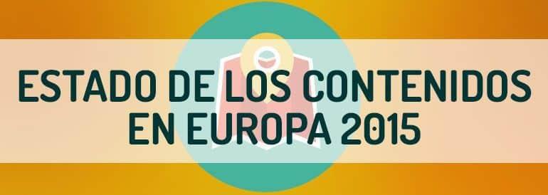 El estado de los contenidos en Europa 2015. Informe Hubspot