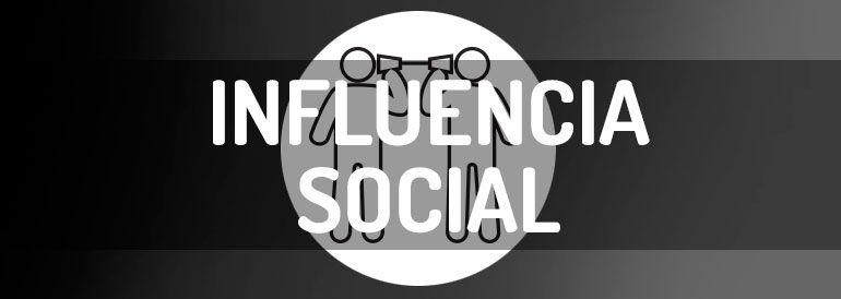 Influencia social, manual de instrucciones en infografía