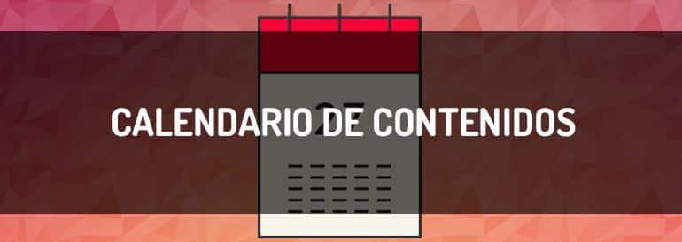 Calendario de contenidos, herramientas para tenerlo bajo control