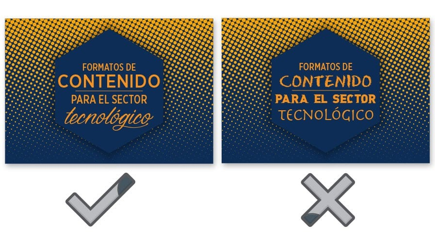 Errores de contenido visual que pueden arruinar tu proyecto.