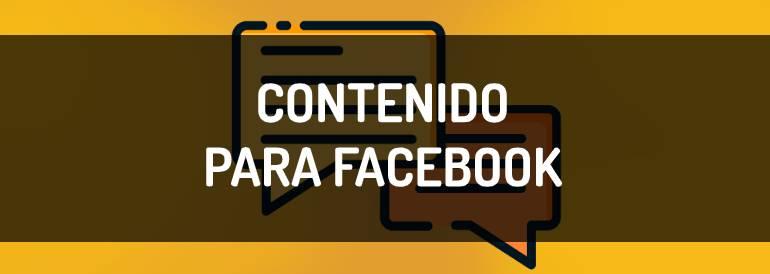 Cómo crear contenido para Facebook