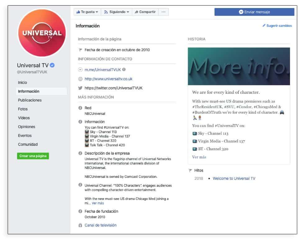Cómo crear contenido para Facebook, cuidar la información