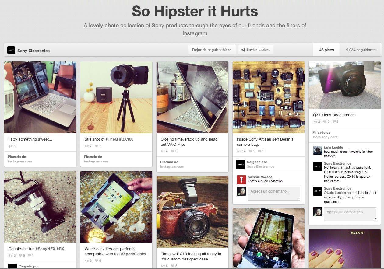 Pinterest para el sector retail, cómo hacerlo bien.