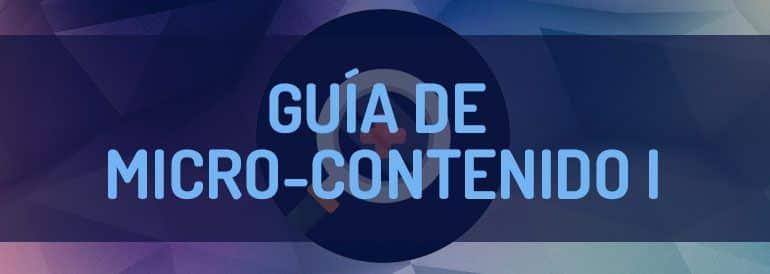 Guía de micro contenido para Pymes.