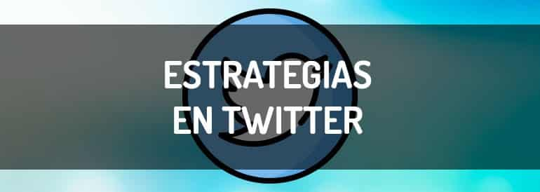 Estrategias de marketing en Twitter.