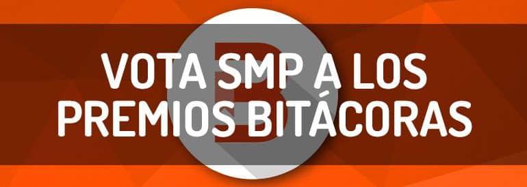 Vota a SMP a los premios Bitacoras como mejor blog de marketing de contenidos.