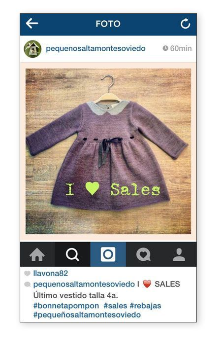 marcas que utilizan instagram para promocionar las rebajas
