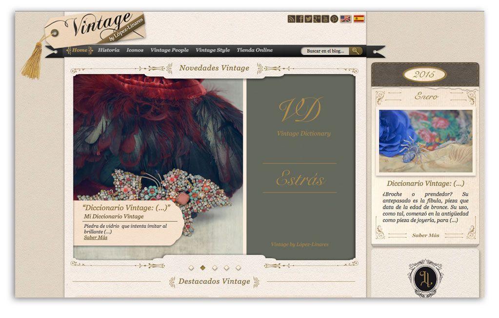 Blog de la tienda online Lopez-Linares, ejemplo de casos de estudio de marketing de contenidos.