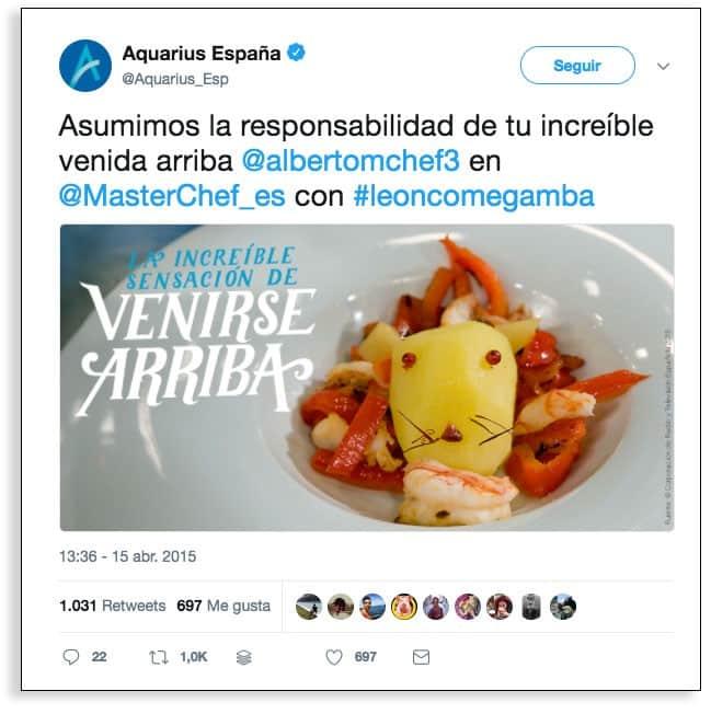 Marketing en tiempo real, el ejemplo de Acuarius.