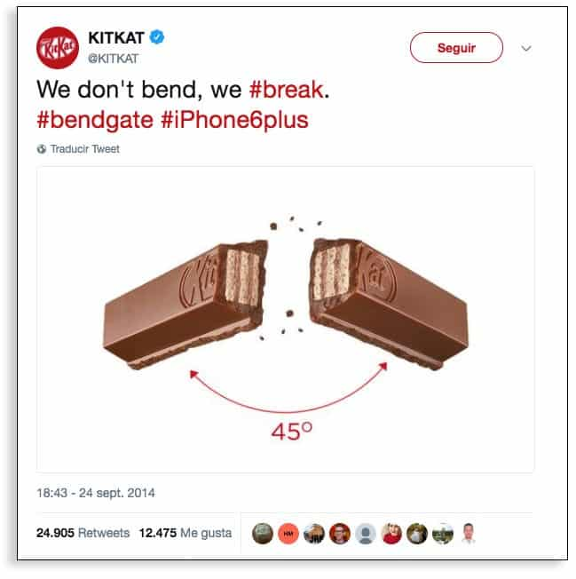 Kit Kat y marketing en tiempo real.