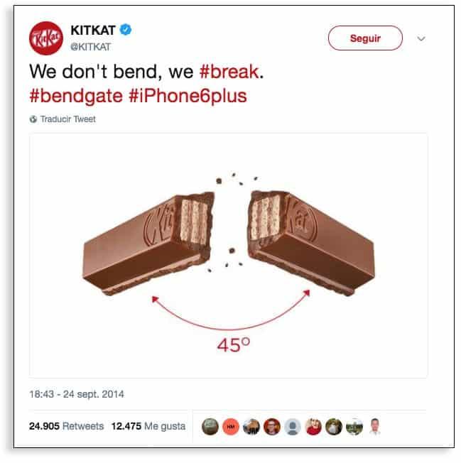 Kit Kat y marketing en tiempo real.