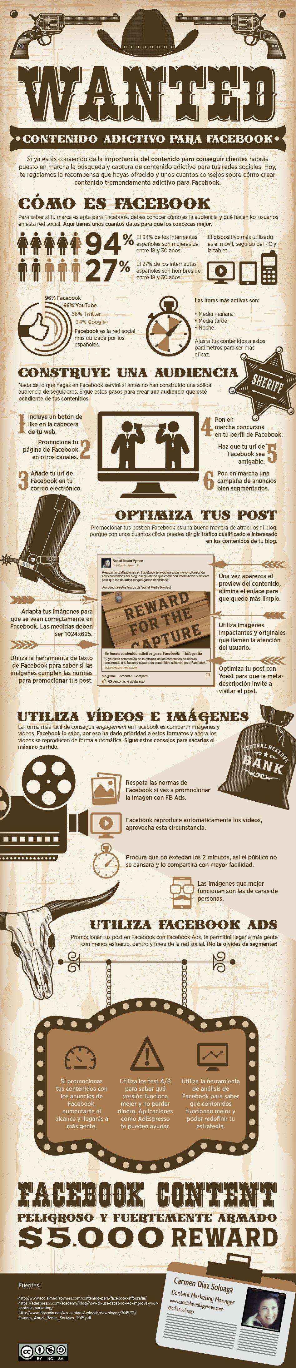 Cómo crear contenido para Facebook que resulte adictivo para los seguidores. Blog de marketing de contenidos.