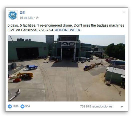 General Electric es un ejemplo de caso de estudio de contenidos.