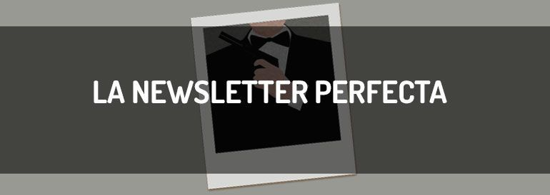 Una infografía sobre los secretos de la newsletter perfecta.
