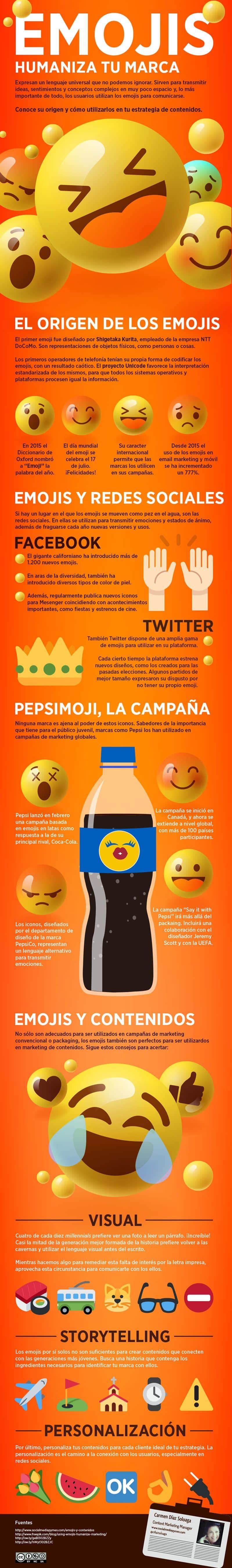 Cómo utilizar los emojis y contenidos para humanizar tu marca.