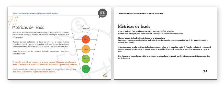 Ejemplo de diseño de ebooks