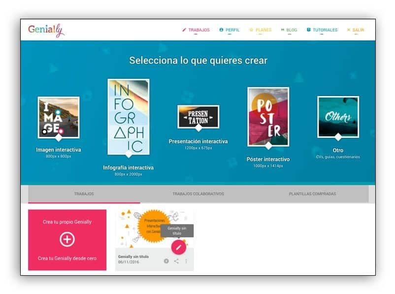 Cómo crear presentaciones interactivas con Genially.