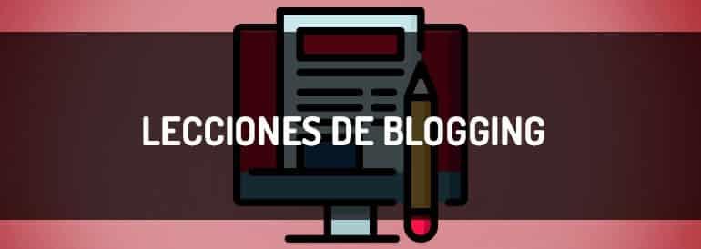 Lecciones de blogging que he aprendido después de 250 entradas.