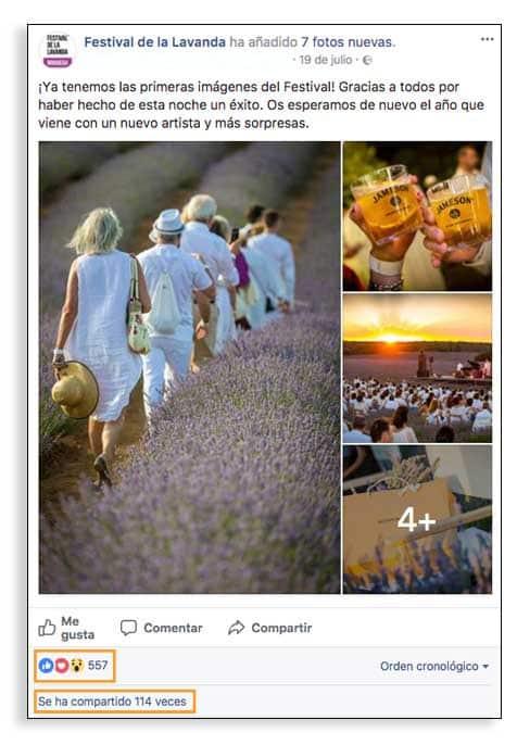 Contenidos para Facebook, guía para Pymes.