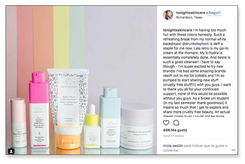 Micro influencers en Instagram, ejemplos de marcas y perfiles.