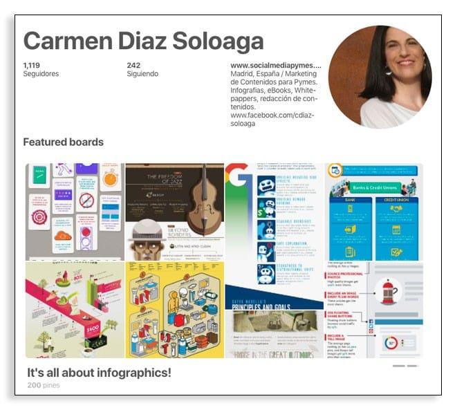 Ideas creativas en Pinterest, ejemplos de marcas.