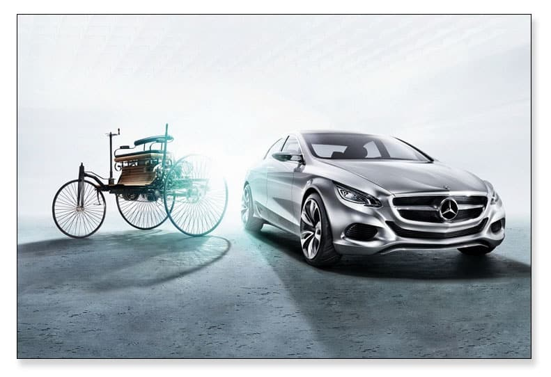 Mercedes Benz es un ejemplo del arquetipo del Controlador, sus valores.