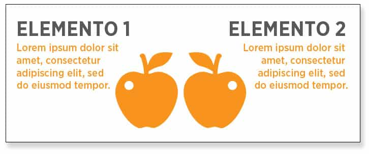 Cómo diseñar una infografía, realizar comparaciones