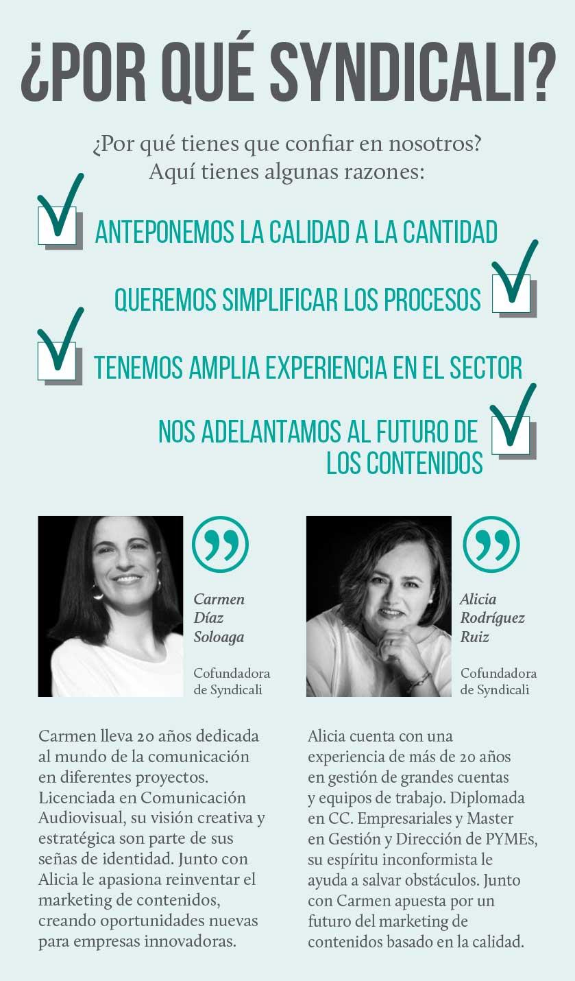 Syndicali es el stock de contenidos en español.