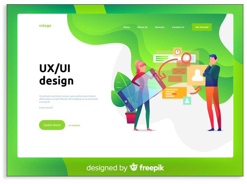 Ejemplo de recursos para infografías gratis de Freepik