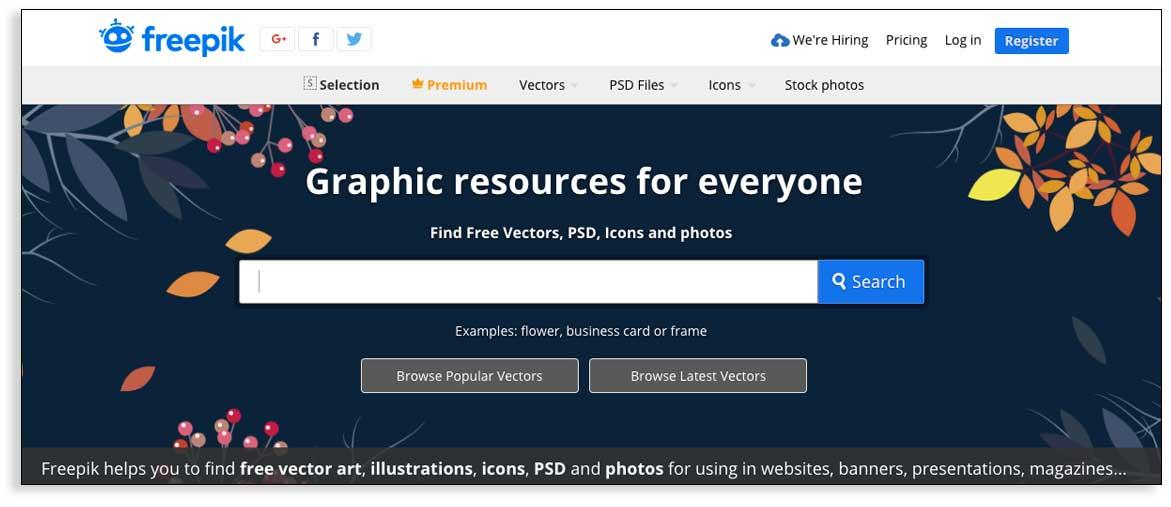 Recursos para infografías gratis y de calidad, Freepik