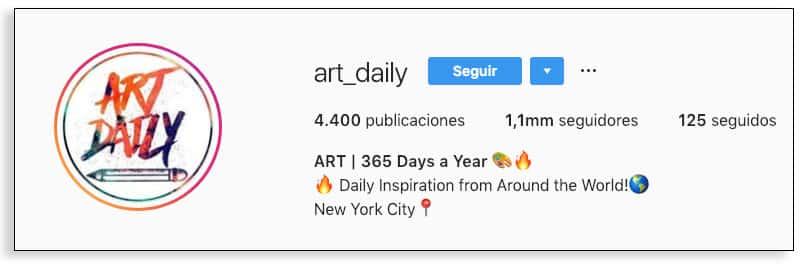 Los emojis en la bio de Instagram