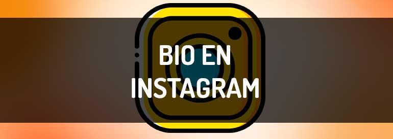 Bio en Instagram, cómo redactar una bio