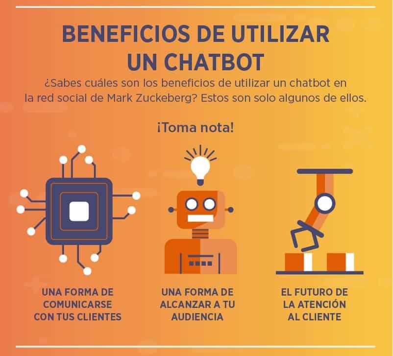 Beneficios de utilizar un chatbot en Facebook