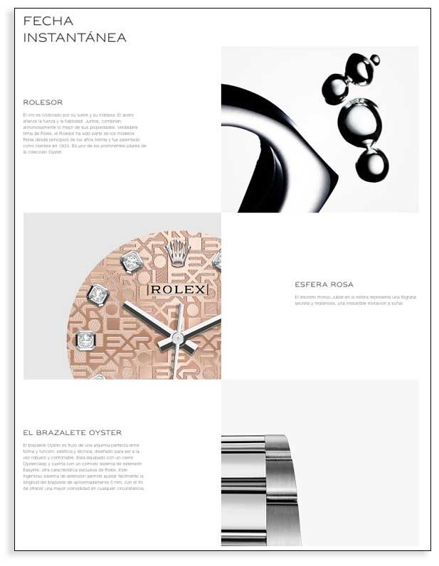 Detalles de selección de Rolex