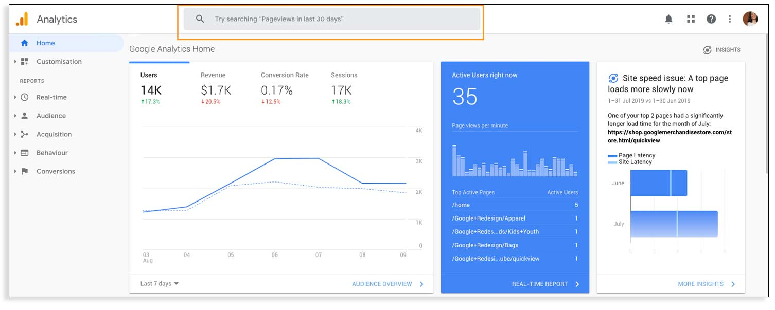 Cómo utilizar Google Analytics en inglés