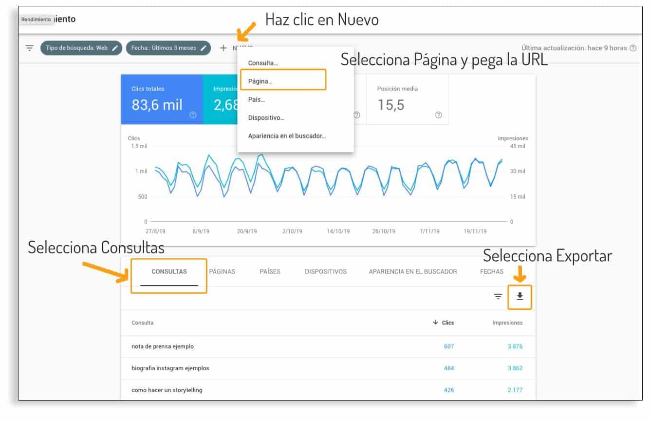 Google Search Console para aumentar el tráfico de tu web
