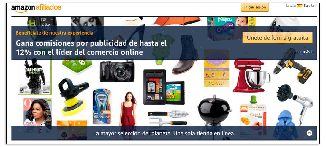 Marketing de afiliados en Amazon