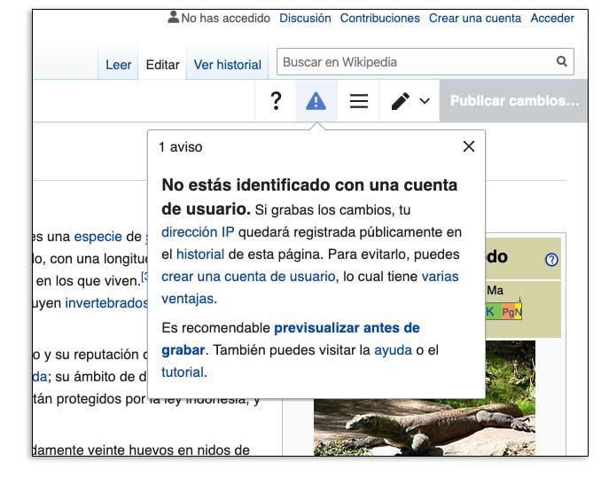Por qué crear una cuenta en Wikipedia