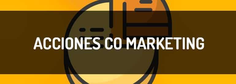Acciones de co marketing para empresas