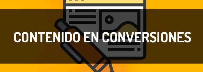 Cómo convertir contenido en conversiones