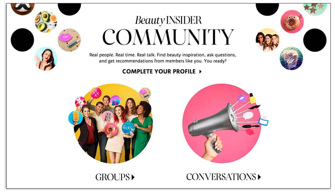 Cómo Sephora crea una audiencia online