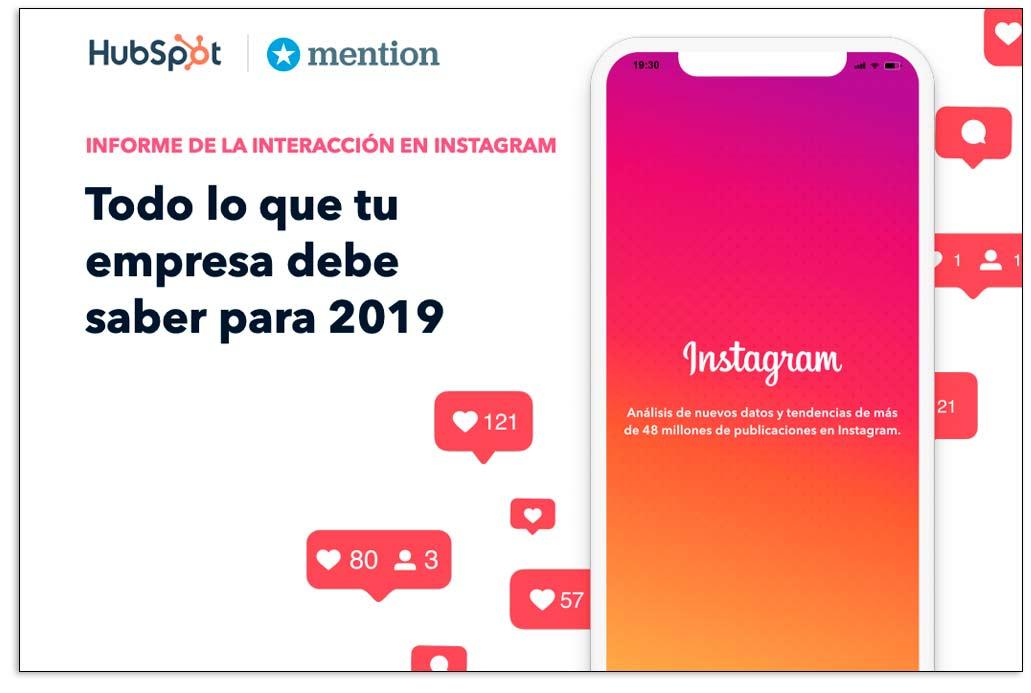 Ebook de Hubspot sobre Instagram