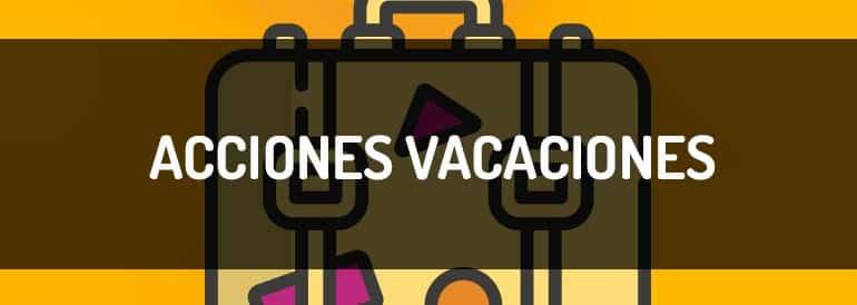 Acciones de marketing de contenidos para las vacaciones