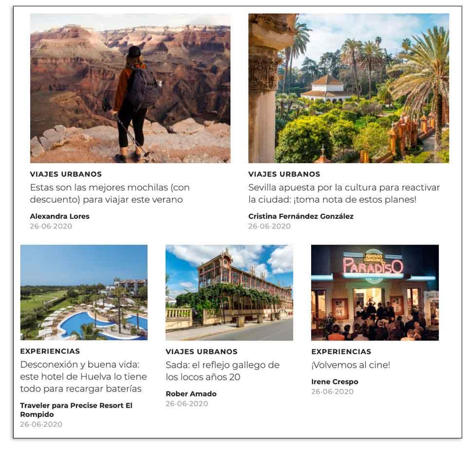 Ejemplo de acciones de marketing para las vacaciones en la era COVD