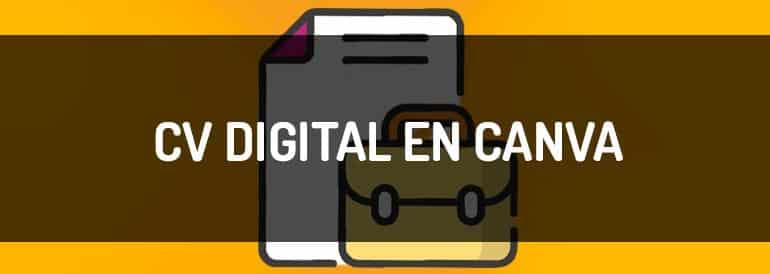 ¿Cómo se hace un currículum en formato digital? Plantillas en Canva