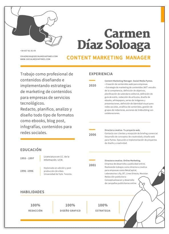 Curriculum Carmen Díaz Soloaga