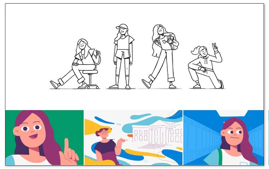 Cómo diseñar una identidad visual, las ilustraciones
