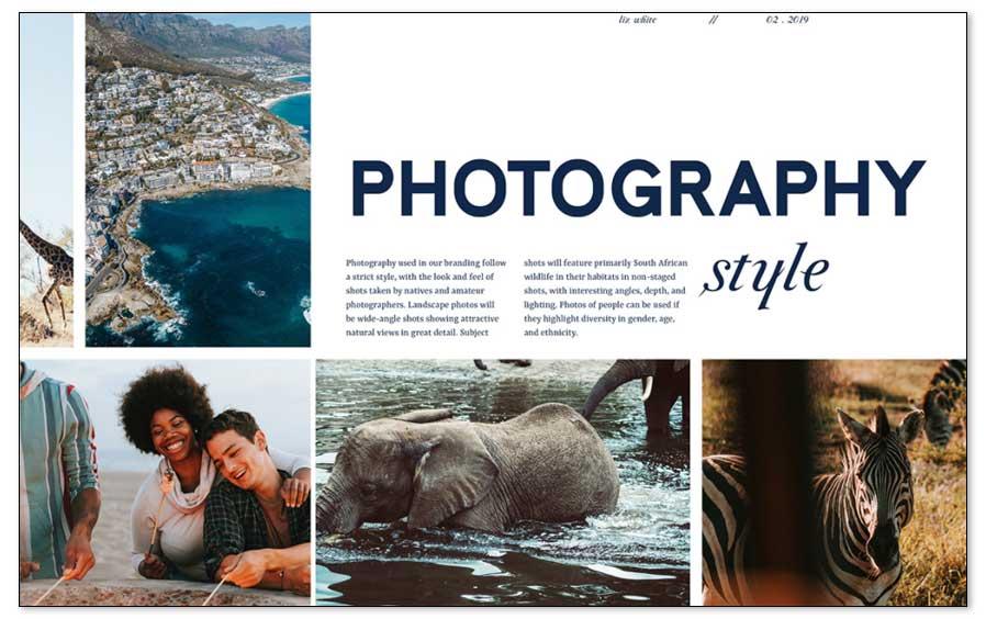 Fotografía de marca, guías para seleccionar imágenes