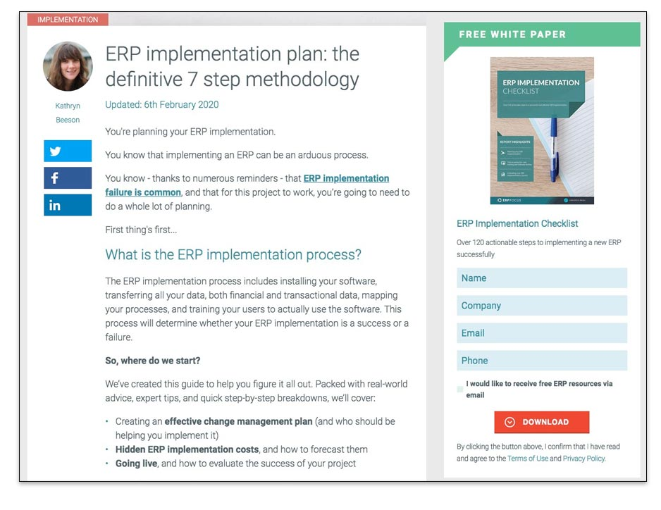 Ejemplo de documentación técnica como servicios de copywriting