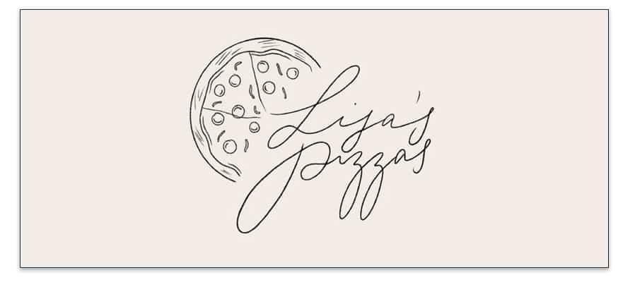 Un logotipo que utiliza una fuente Handwritten elegir tipografías de marca